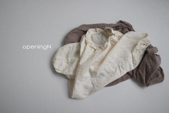 OPENING & - Korean Children Fashion - #Kfashion4kids - Milk Shirring Blouse - 6