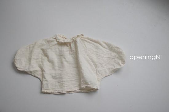 OPENING & - Korean Children Fashion - #Kfashion4kids - Milk Shirring Blouse - 7