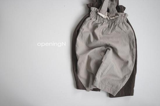 OPENING & - Korean Children Fashion - #Kfashion4kids - Up And Up Pants - 4
