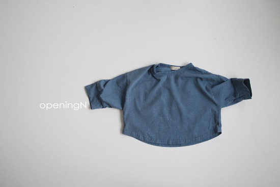 OPENING & - Korean Children Fashion - #Kfashion4kids - Pigment Llong Tee - 4