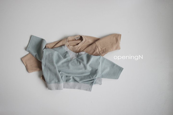 OPENING & - Korean Children Fashion - #Kfashion4kids - Milk Terry Tee