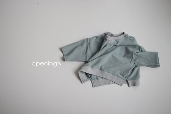 OPENING & - Korean Children Fashion - #Kfashion4kids - Milk Terry Tee - 3