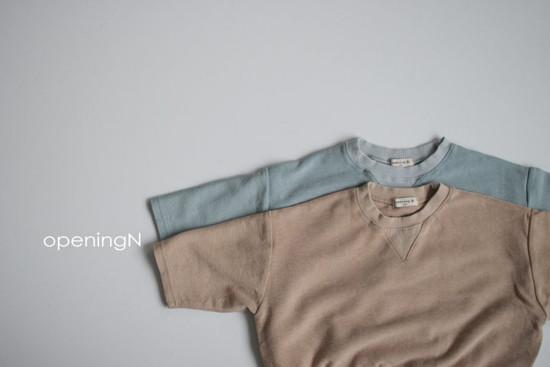 OPENING & - Korean Children Fashion - #Kfashion4kids - Milk Terry Tee - 4