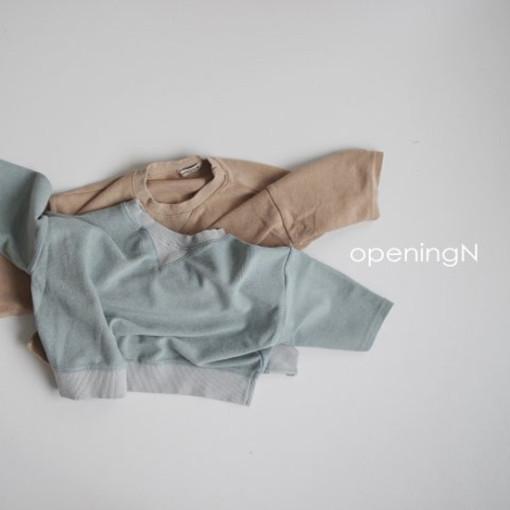 OPENING & - BRAND - Korean Children Fashion - #Kfashion4kids - Milk Terry Tee