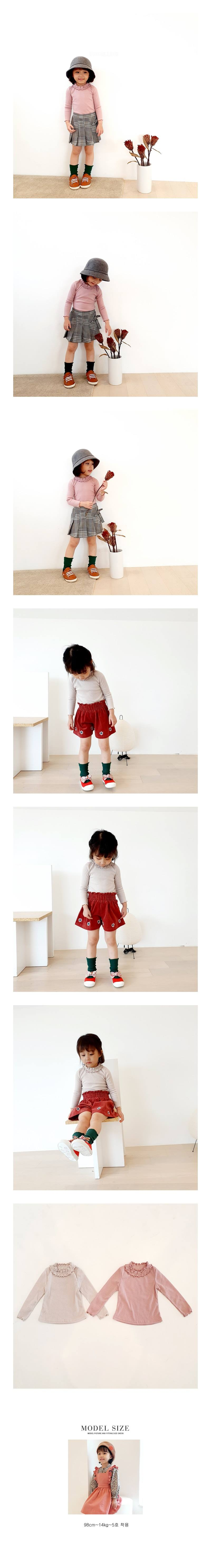 ORANGE MOM - Korean Children Fashion - #Kfashion4kids - Rib Tight Tee