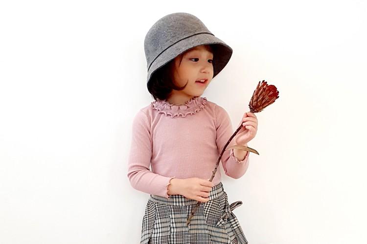 ORANGE MOM - BRAND - Korean Children Fashion - #Kfashion4kids - Rib Tight Tee