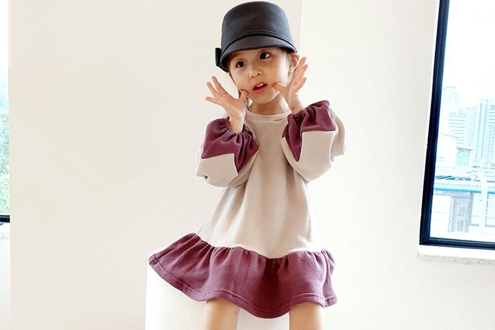 ORANGE MOM - BRAND - Korean Children Fashion - #Kfashion4kids - Zigzag One-piece