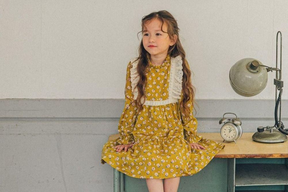 PINK BERRY - BRAND - Korean Children Fashion - #Kfashion4kids - Daisy One-piece