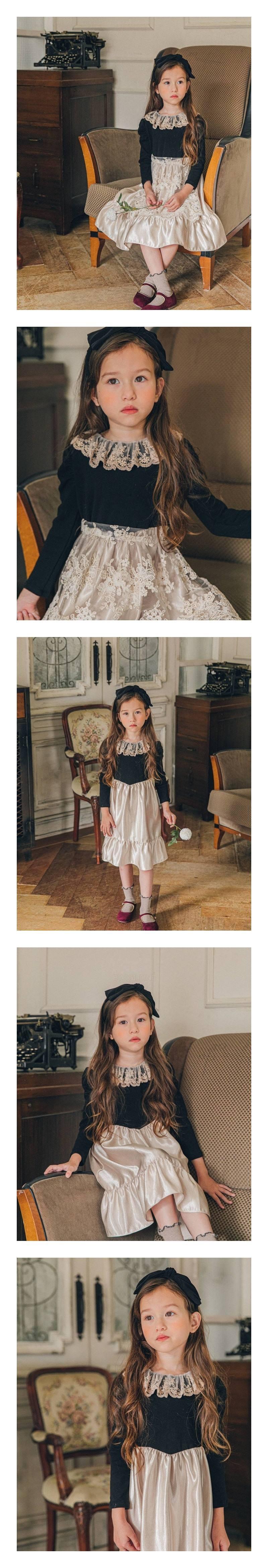 PINK BERRY - Korean Children Fashion - #Kfashion4kids - Charne One-piece
