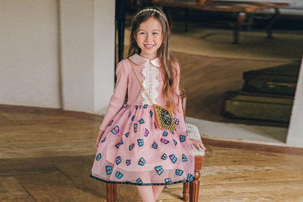 PINK BERRY - BRAND - Korean Children Fashion - #Kfashion4kids - Emma One-piece