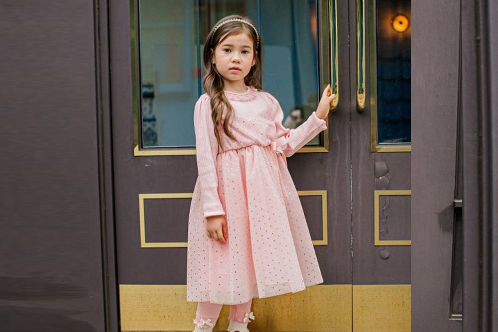 PUDDING - BRAND - Korean Children Fashion - #Kfashion4kids - Dot One-piece