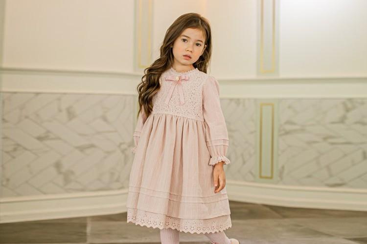 PUDDING - BRAND - Korean Children Fashion - #Kfashion4kids - Ribbon One-piece