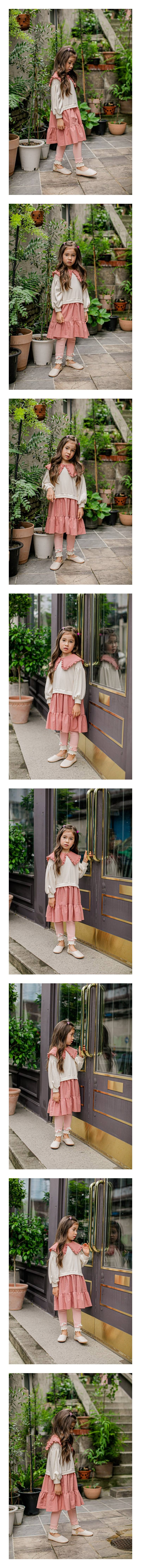 PUDDING - Korean Children Fashion - #Kfashion4kids - Say One-piece