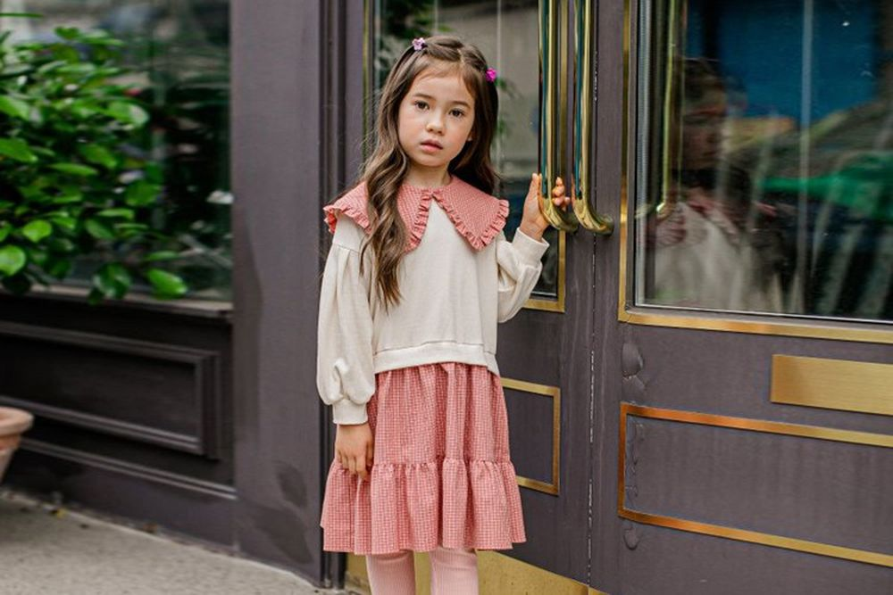 PUDDING - BRAND - Korean Children Fashion - #Kfashion4kids - Say One-piece