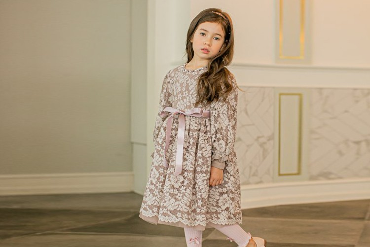 PUDDING - BRAND - Korean Children Fashion - #Kfashion4kids - See Through One-piece