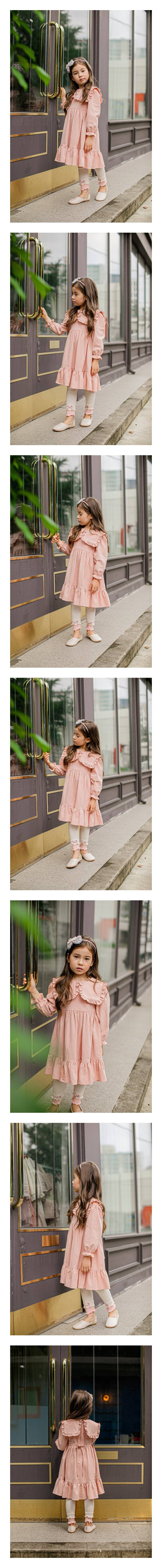PUDDING - Korean Children Fashion - #Kfashion4kids - Angel One-piece