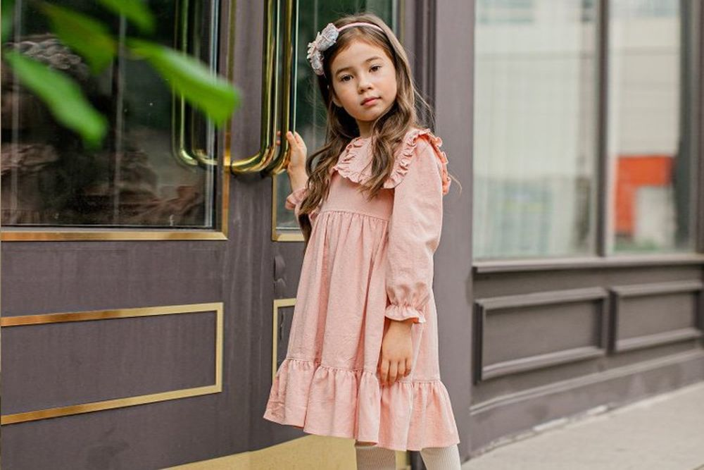 PUDDING - BRAND - Korean Children Fashion - #Kfashion4kids - Angel One-piece