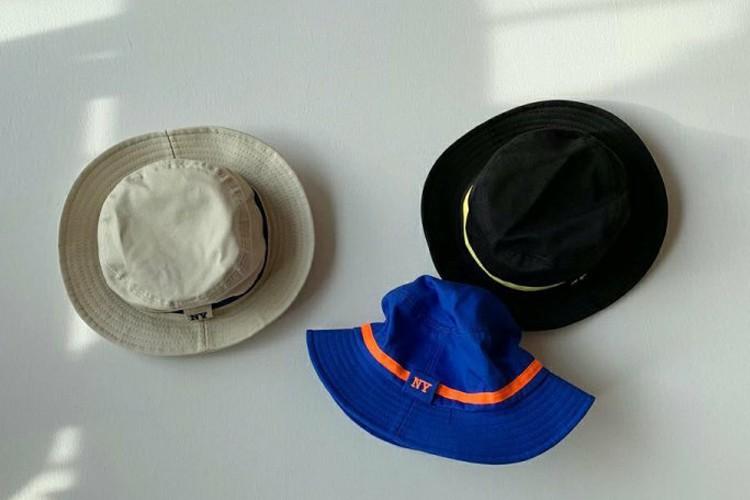SHINSEAGE KIDS - BRAND - Korean Children Fashion - #Kfashion4kids - NY Line Bucket Hat