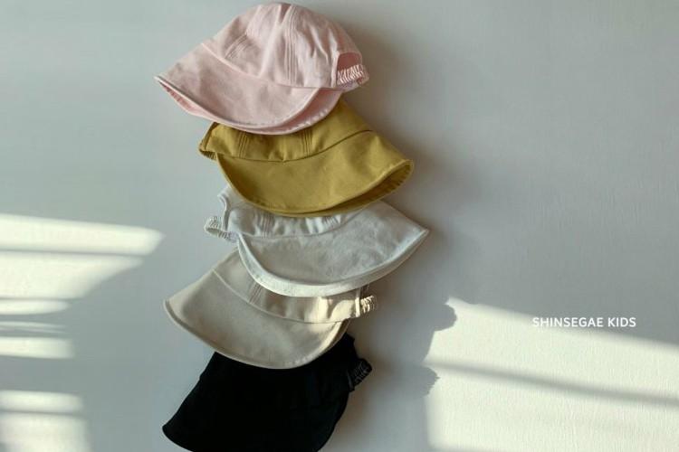 SHINSEAGE KIDS - BRAND - Korean Children Fashion - #Kfashion4kids - Single String Bucket Hat