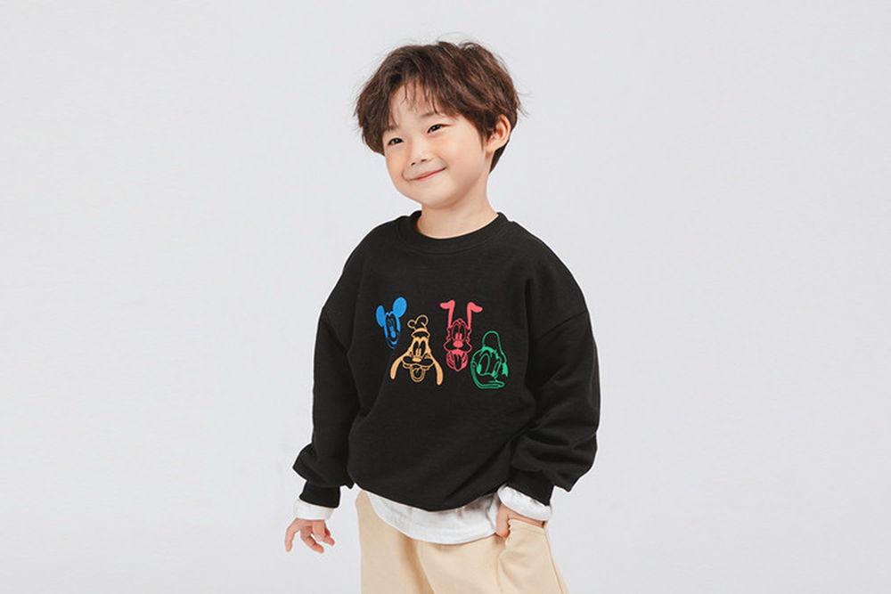 WHITESKETCHBOOK - BRAND - Korean Children Fashion - #Kfashion4kids - Friends Mickey MTM