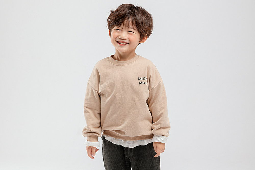 WHITESKETCHBOOK - BRAND - Korean Children Fashion - #Kfashion4kids - Climbing Mickey MTM