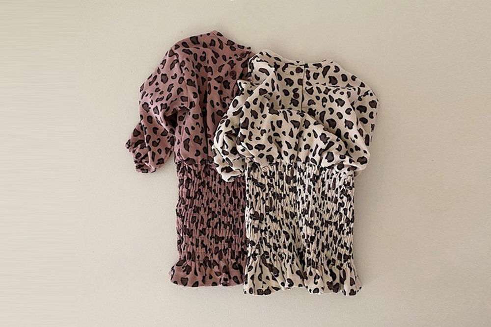 YELLOW FACTORY - BRAND - Korean Children Fashion - #Kfashion4kids - Leopard One-piece