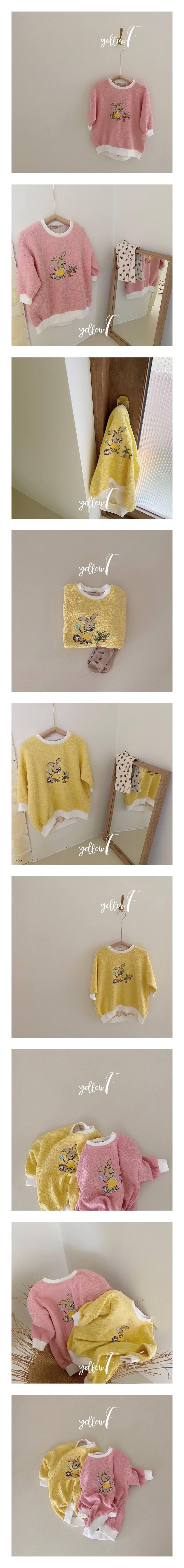 YELLOW FACTORY - Korean Children Fashion - #Kfashion4kids - Rabbit One-piece