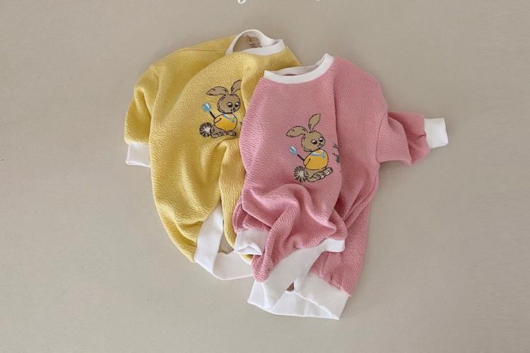 YELLOW FACTORY - BRAND - Korean Children Fashion - #Kfashion4kids - Rabbit One-piece