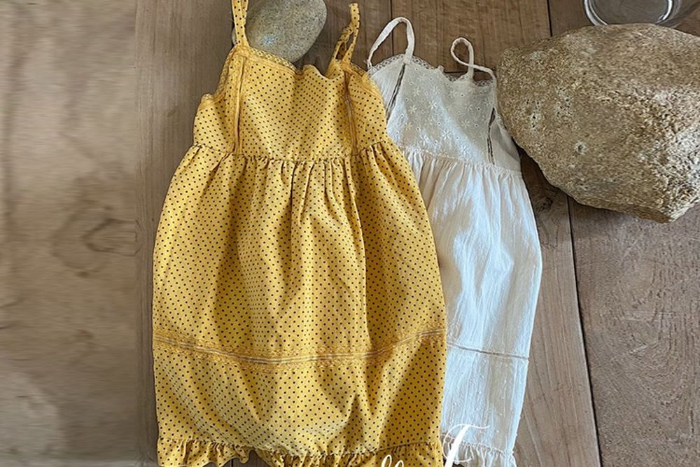 YELLOW FACTORY - BRAND - Korean Children Fashion - #Kfashion4kids - Toto String One-piece