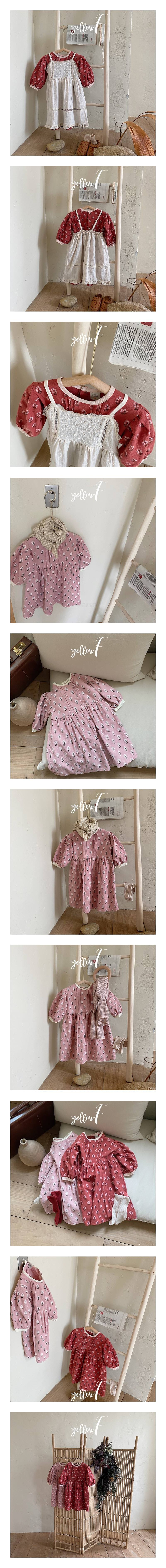 YELLOW FACTORY - Korean Children Fashion - #Kfashion4kids - Miu One-piece