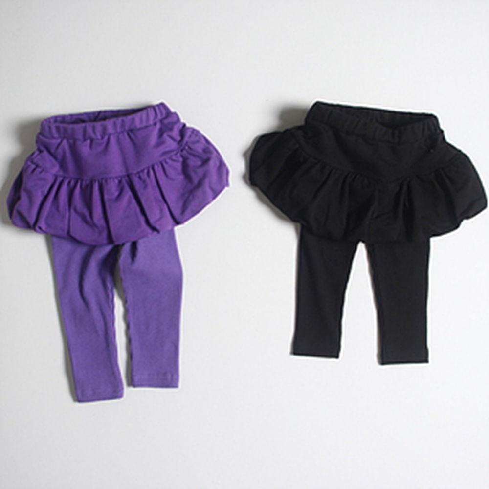 1ST BLUE - BRAND - Korean Children Fashion - #Kfashion4kids - Balloon Skirt Leggings