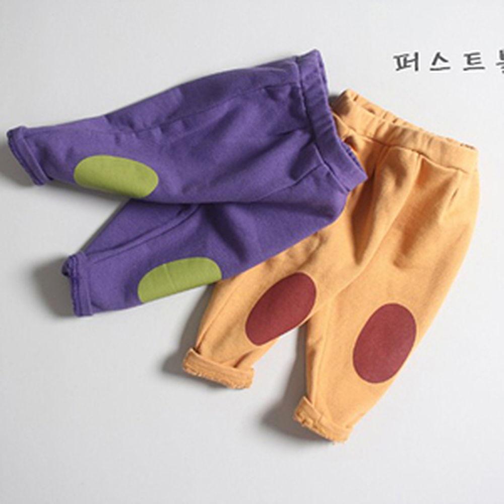 1ST BLUE - BRAND - Korean Children Fashion - #Kfashion4kids - Bread Patch Pants