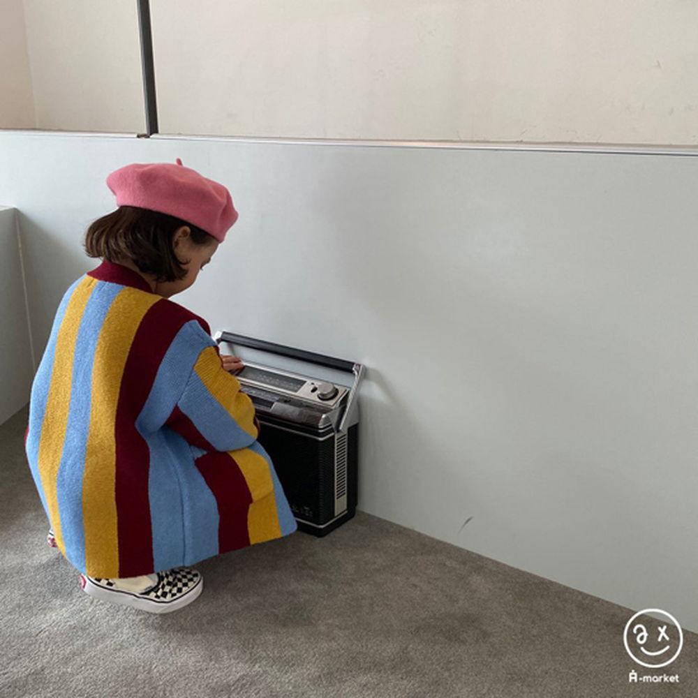 A-MARKET - Korean Children Fashion - #Kfashion4kids - Rainbow Cardigan - 10