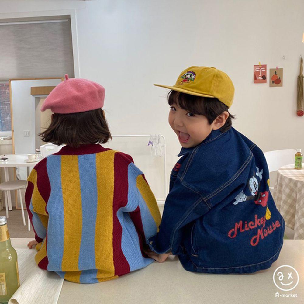 A-MARKET - Korean Children Fashion - #Kfashion4kids - Rainbow Cardigan - 11