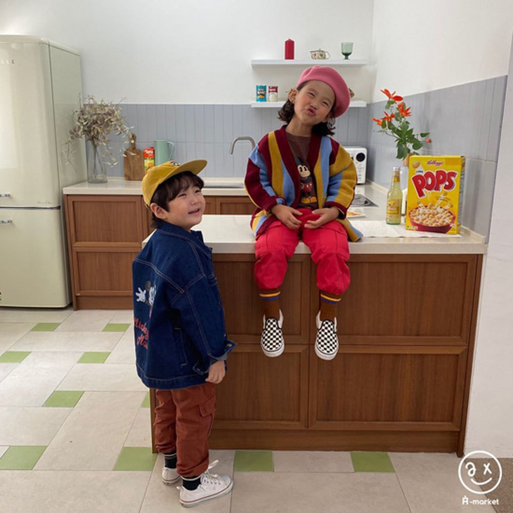 A-MARKET - Korean Children Fashion - #Kfashion4kids - Rainbow Cardigan - 12