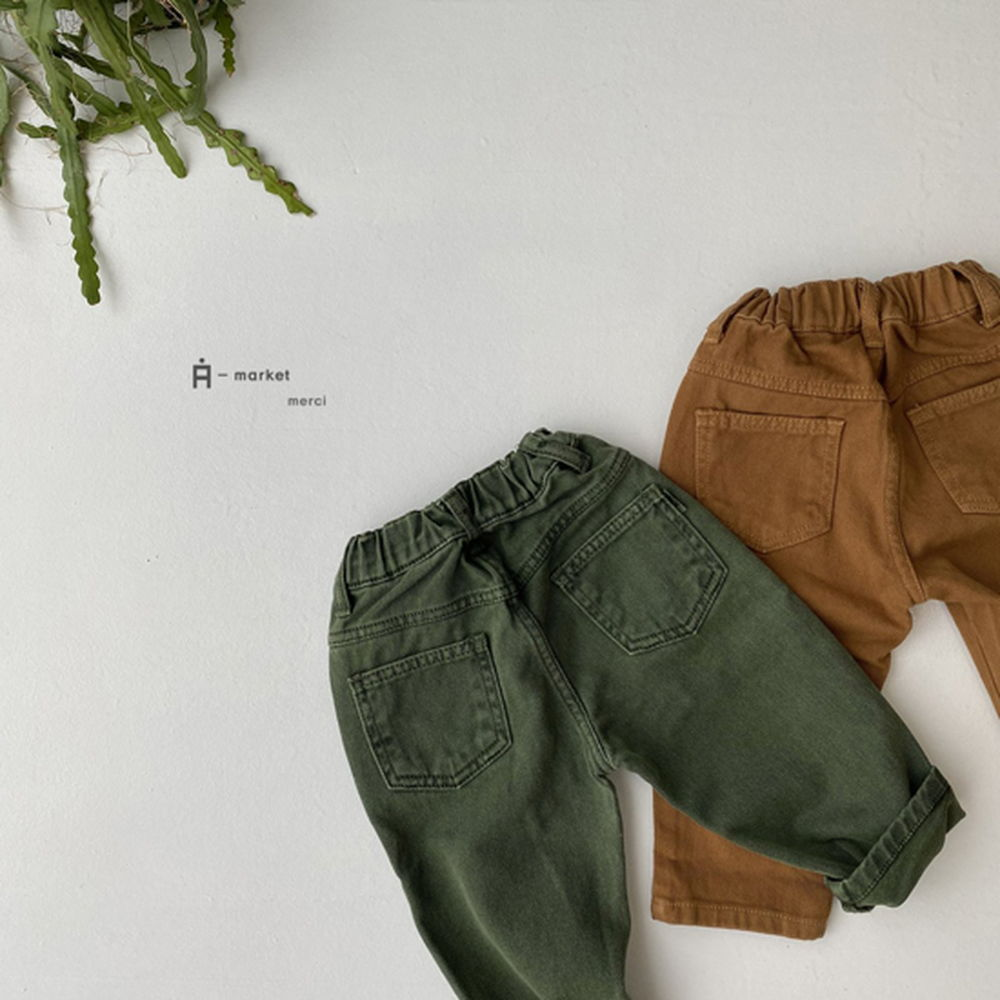 A-MARKET - Korean Children Fashion - #Kfashion4kids - Dying Pants
