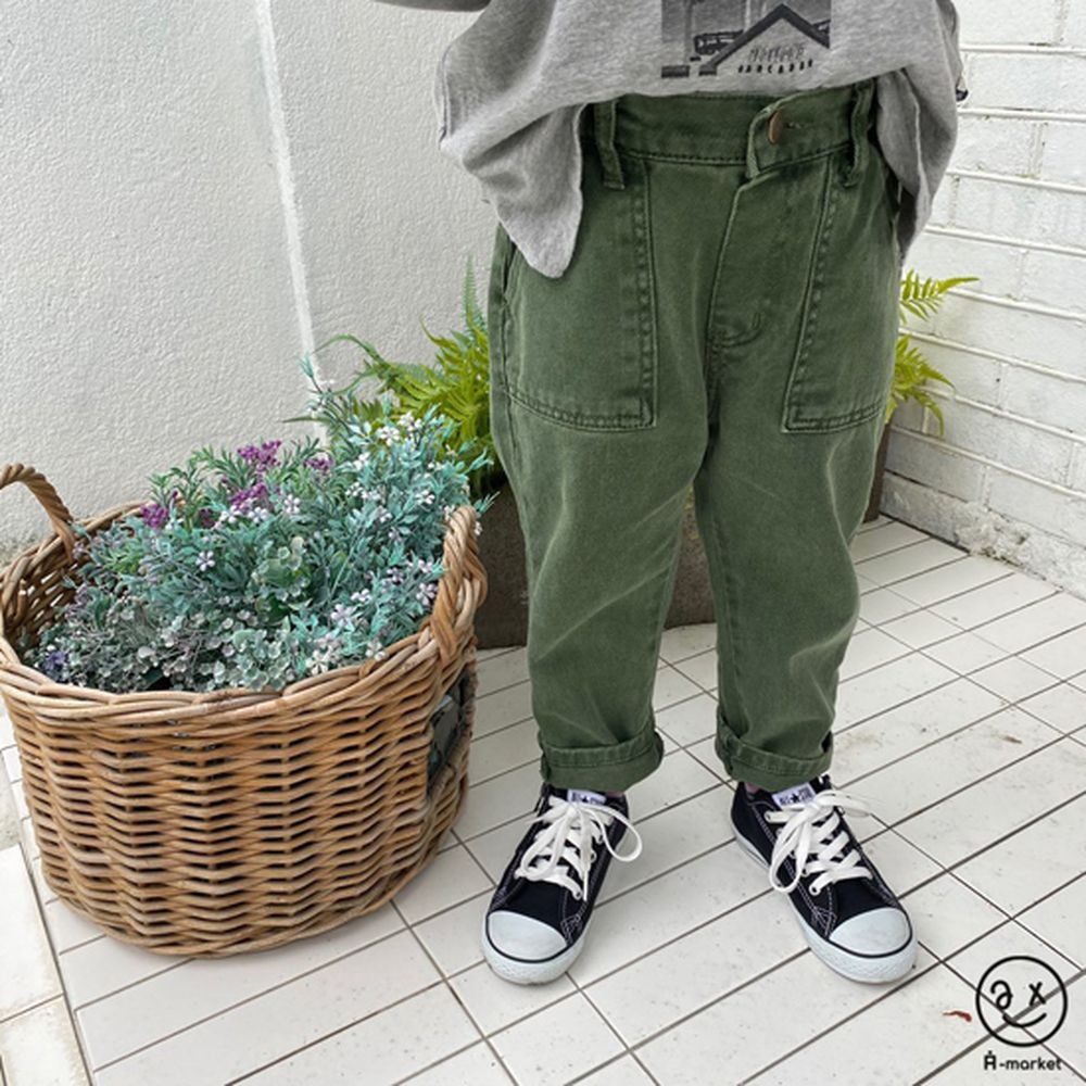 A-MARKET - Korean Children Fashion - #Kfashion4kids - Dying Pants - 10
