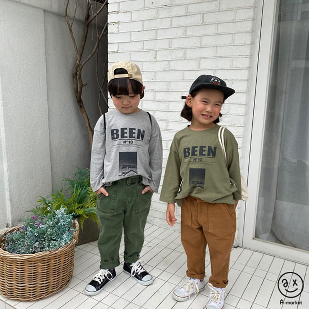 A-MARKET - Korean Children Fashion - #Kfashion4kids - Dying Pants - 11