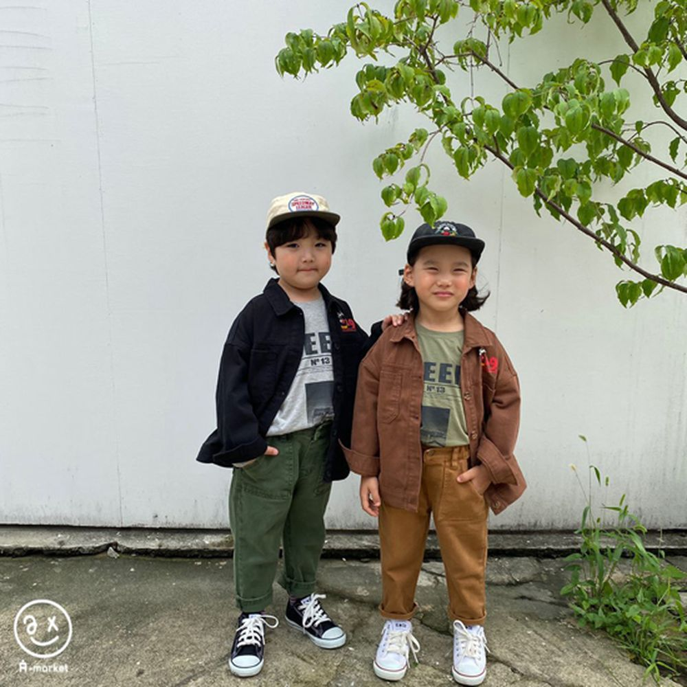 A-MARKET - Korean Children Fashion - #Kfashion4kids - Dying Pants - 12