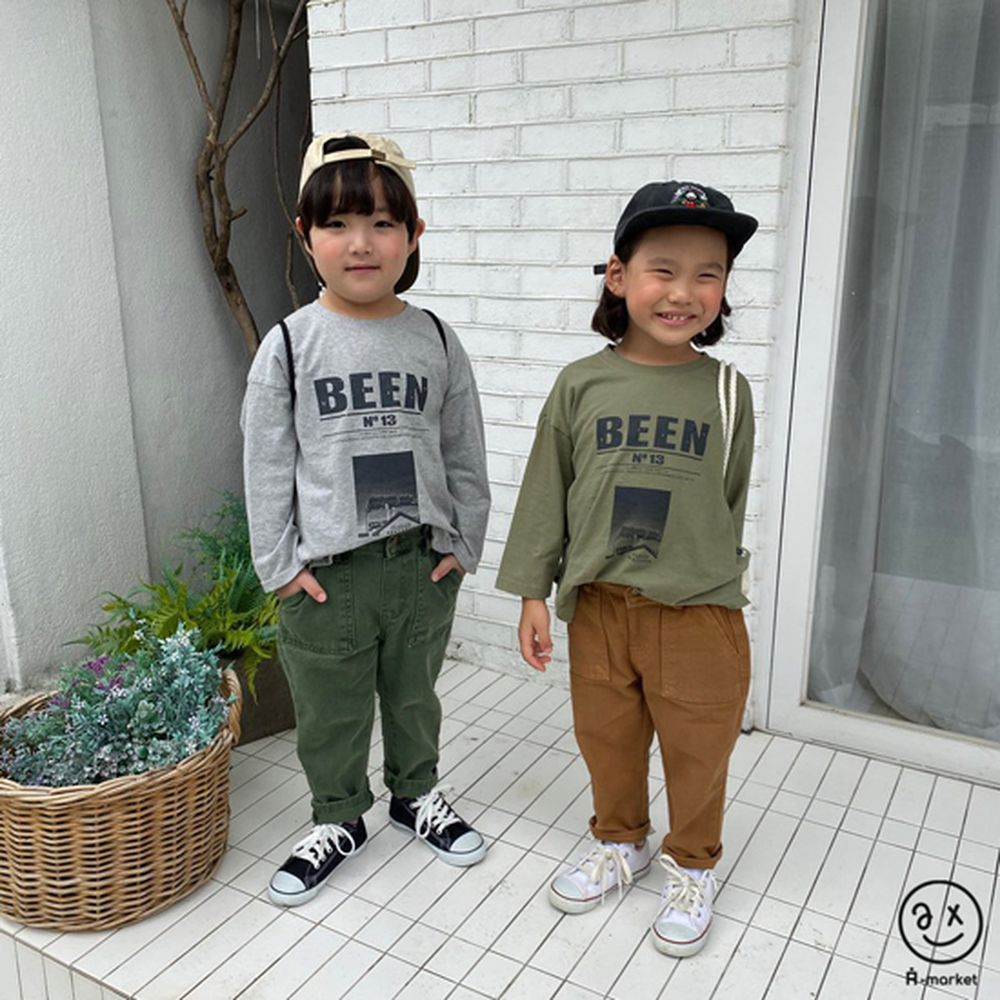 A-MARKET - Korean Children Fashion - #Kfashion4kids - Dying Pants - 3