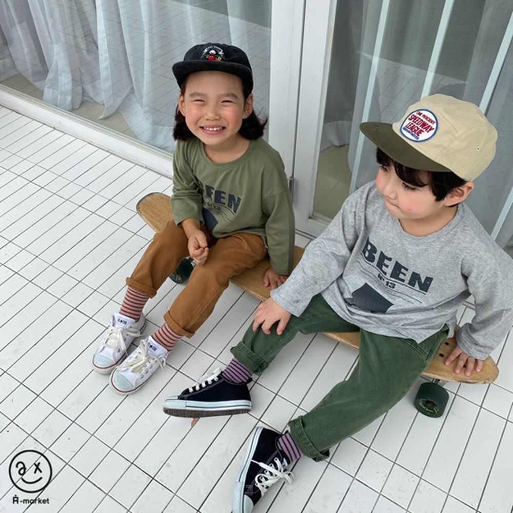A-MARKET - Korean Children Fashion - #Kfashion4kids - Dying Pants - 4