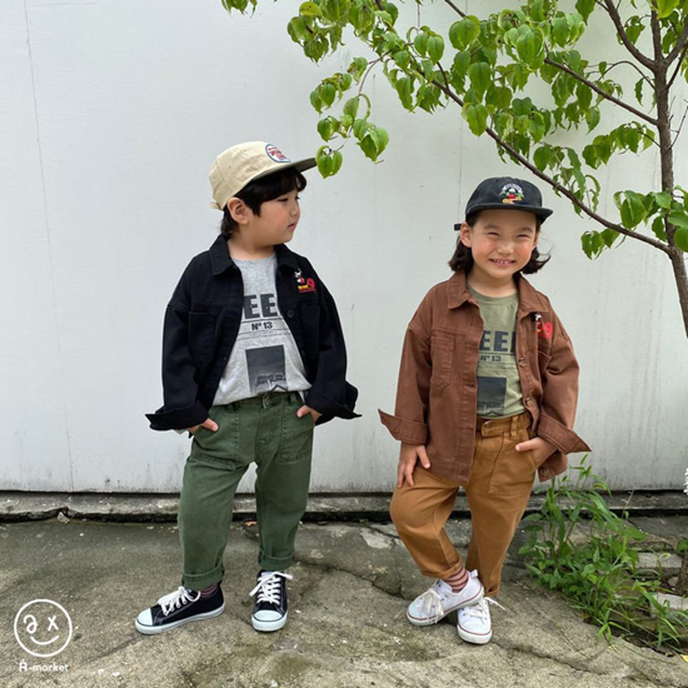 A-MARKET - Korean Children Fashion - #Kfashion4kids - Dying Pants - 5