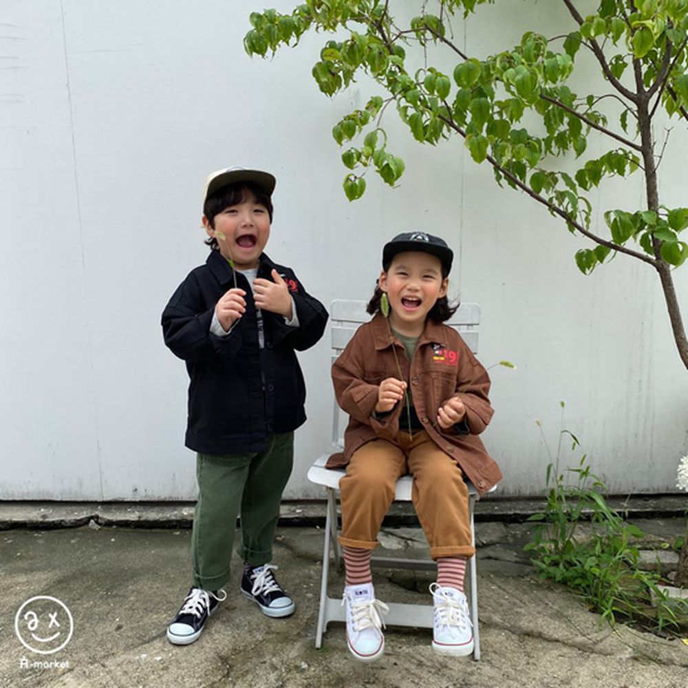 A-MARKET - Korean Children Fashion - #Kfashion4kids - Dying Pants - 6