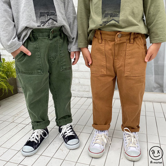 A-MARKET - BRAND - Korean Children Fashion - #Kfashion4kids - Dying Pants