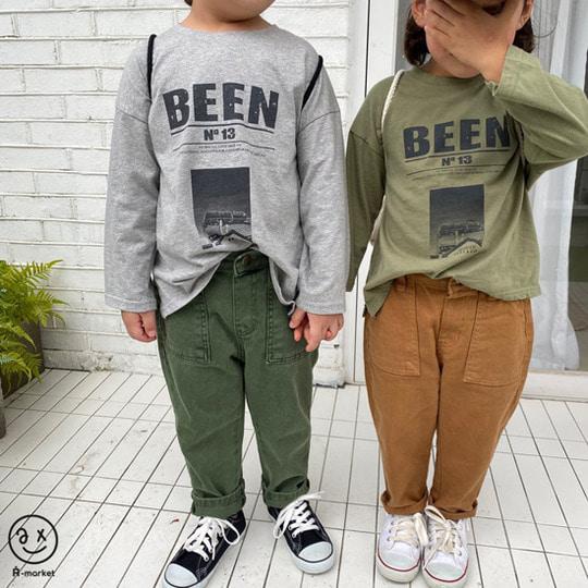 A-MARKET - BRAND - Korean Children Fashion - #Kfashion4kids - Been Tee