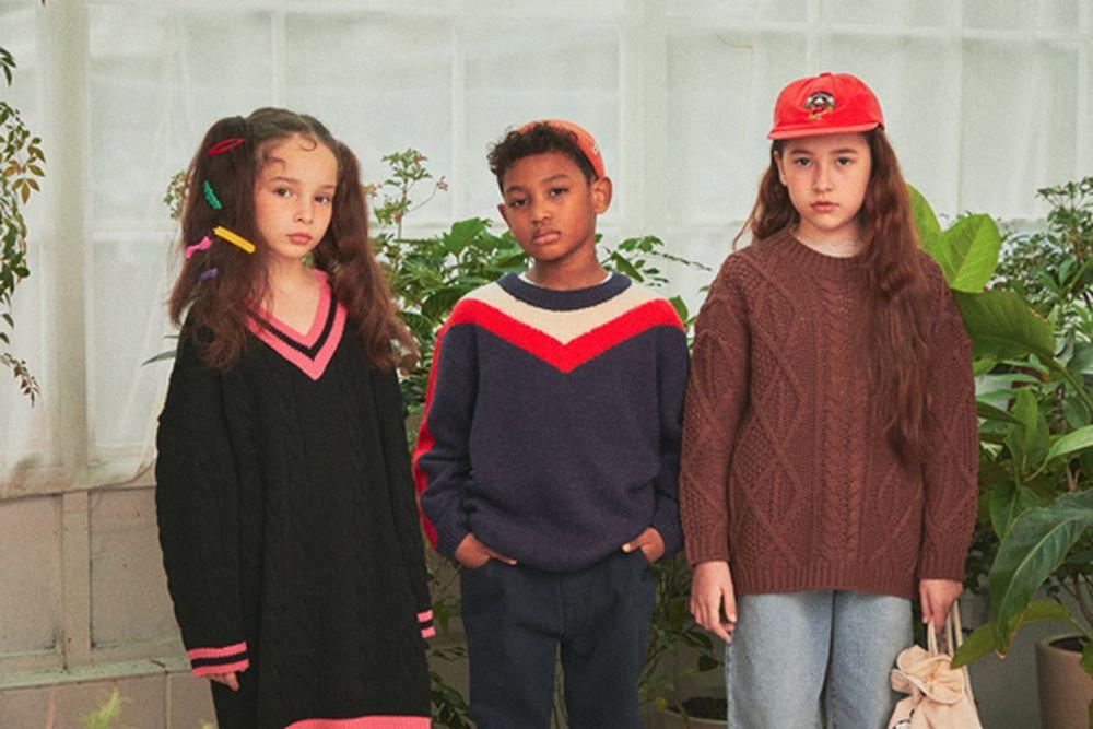 A-MARKET - Korean Children Fashion - #Kfashion4kids - School Knit One-piece - 10
