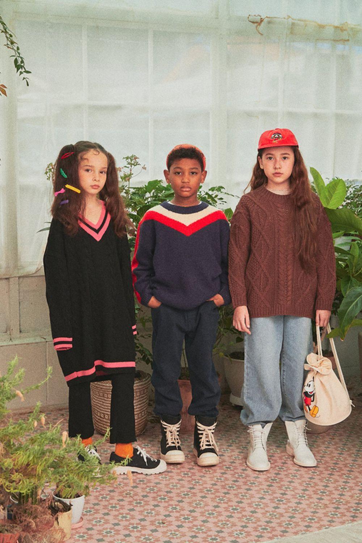 A-MARKET - Korean Children Fashion - #Kfashion4kids - School Knit One-piece - 11