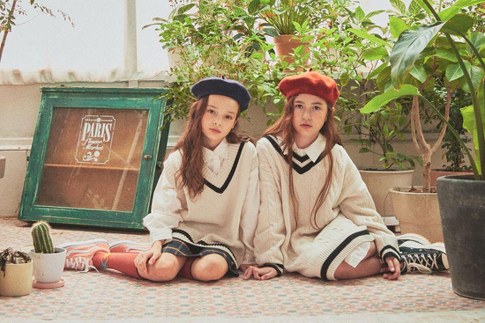 A-MARKET - Korean Children Fashion - #Kfashion4kids - School Knit One-piece - 2