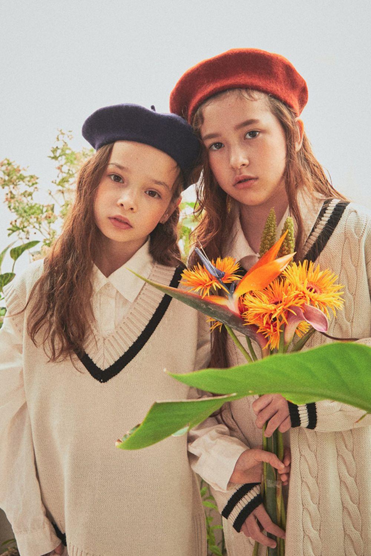 A-MARKET - Korean Children Fashion - #Kfashion4kids - School Knit One-piece - 8