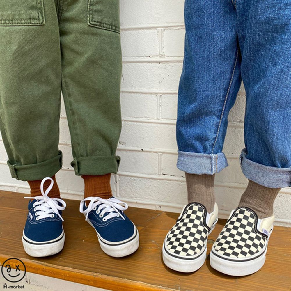 A-MARKET - Korean Children Fashion - #Kfashion4kids - Color Short Socks [set of 4 - 4